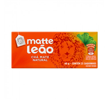 Cha Matte Leão Natural C/25 Saches