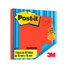 Bloco Adesivo Post-it 3M POP-UP 76x76mm Telha