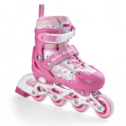 Patins Hello Kitty Tam M Rosa - Multikids Multilaser - BR765