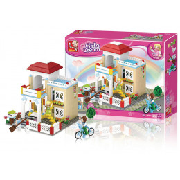 Blocos New Girls Dream Casa 380pcs - Multikids Multilaser - BR844