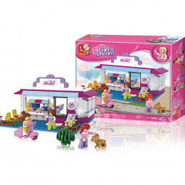 Blocos New Girls Dream Café 226pcs - Multikids Multilaser - BR902