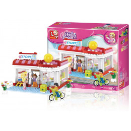 Blocos New Girls Dream Supermercado 289pcs - Multikids Multilaser - BR903