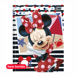 Caderno Caligrafia 40 Fls  Minnie