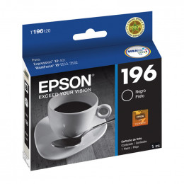 Cartucho Epson T196120 196 Preto 5ml
