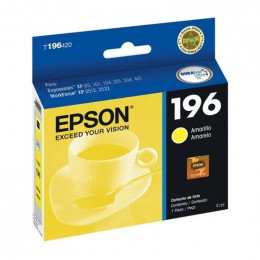 Cartucho Epson T196420 196 Yellow 4ml