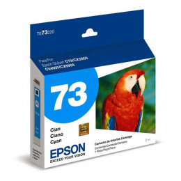 Cartucho Epson To73220 73n Ciano 5ml