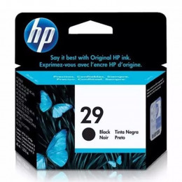 Cartucho Hp 51629-Al 29 Preto 40ml