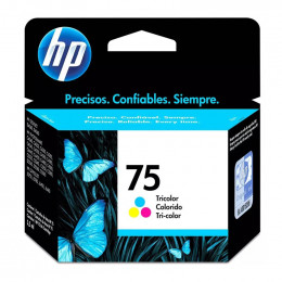Cartucho Hp Cb337-Wb 75 Color 6ml