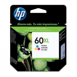Cartucho Hp Cc644-Wb 60xl Color 15,5ml