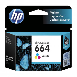 Cartucho Hp F6v28-Ab 664 Color 2ml