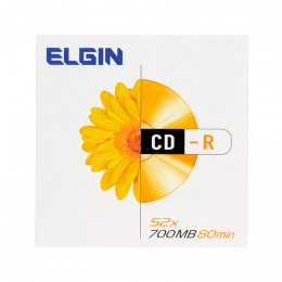 CD-R Gravável Envelope Elgin