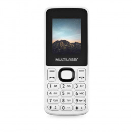 Celular Multilaser New Up Dual Chip com Câmera e Bluetooth MP3 Branco  - P9033