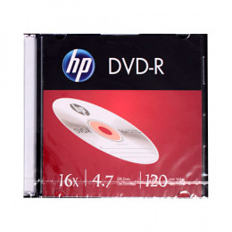DVD-R Gravável 4.7gb Slim HP