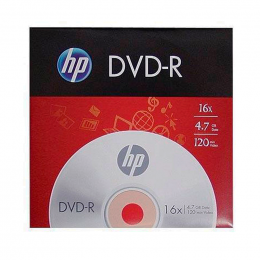 DVD-R Gravável 4.7GB Envelope HP