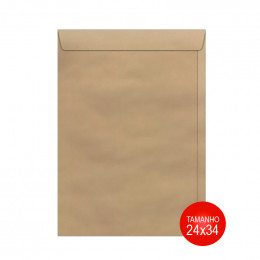 Envelope Kraft 24x34 SKN034 Scrity PCT C/50 UN