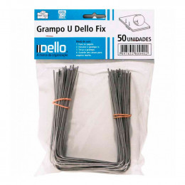 Grampo U Dello Fix 0302 CX C/50 UN