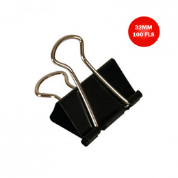 Prendedor de Papéis / Binder Clips CIS 32mm CX C/12 UN