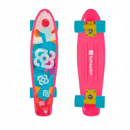 Skate Mini Cruiser Atrio Bob Burnquist Rosa - ES092