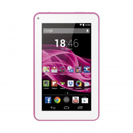 Tablet Multilaser M7S Rosa Quad Core Android 4.4 Kit Kat Dual Câmera Wi-Fi Tela Capacitiva 7